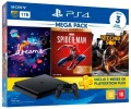 Console Sony PS4 Playstation 4 Slim 1TB com Dreams / Spider Man GOTY Edition /  Infamous Second Son + 3 Meses PSN Plus