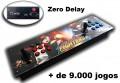 Fliperama Portátil Zero Delay com + de 9.000 Jogos de Consoles e Arcades