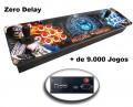 Fliperama Portátil Zero Delay com + de 9.000 Jogos de Consoles e Arcades ( temos várias estampas, consulte )