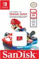 Cartão Sandisk Micro SDXC 128GB para Nintendo Switch