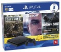 Console PS4 Playstation 4 Slim 1TB com 3 Jogos ( Days Gone, Detroit e Rainbow Six Siege ) + 3 Meses de PSN Plus