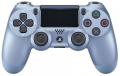 Controle de PS4 Playstation 4 Sony Dualshock 4 Modelo Novo Azul Titanium