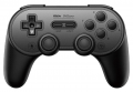 Controle Bluetooth Nintendo Switch PC Raspberry Pi 8Bitdo SN30 Pro+ Preto