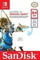 Cartão Sandisk Micro SDXC 64GB para Nintendo Switch